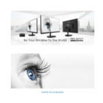 """MSI PRO MP271, 27"""", IPS, 5ms, FHD 1920x1080, Exclusive Display Kit, Anti-Glare, Less Blue Light, Anti-Flicker, Speakers 2x2W, HDMI (Up to 75Hz), VGA, Mic-in, Headphone out, 250 cd/m2, Tilt,"""