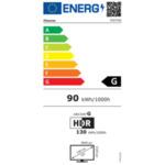 """Hisense 55"""" 55A7GQ, 4K Ultra HD 3840x2160, DLED, FALD,  HDR 10+, HLG, Dolby Vision, Dolby Atmos, Smart TV, WiFi 5GHz, WiFi Direct, BT, Anyview Cast,  3xHDMI, 2xUSB, LAN, CI+, DVB-T2/C/S2,"""
