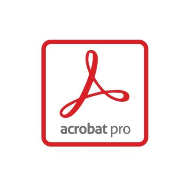 Acrobat Pro DC for teams 1 user 1 year