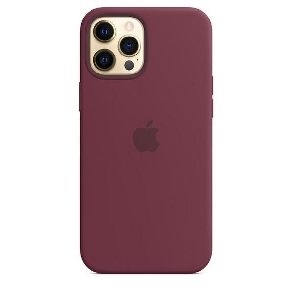 Apple iPhone 12 Pro Max Silicone Case with MagSafe - Plum (Seasonal Fall 2020)