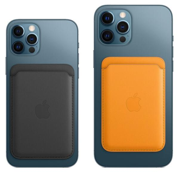 Apple iPhone Leather Wallet with MagSafe - Baltic Blue (Seasonal Fall 2020)