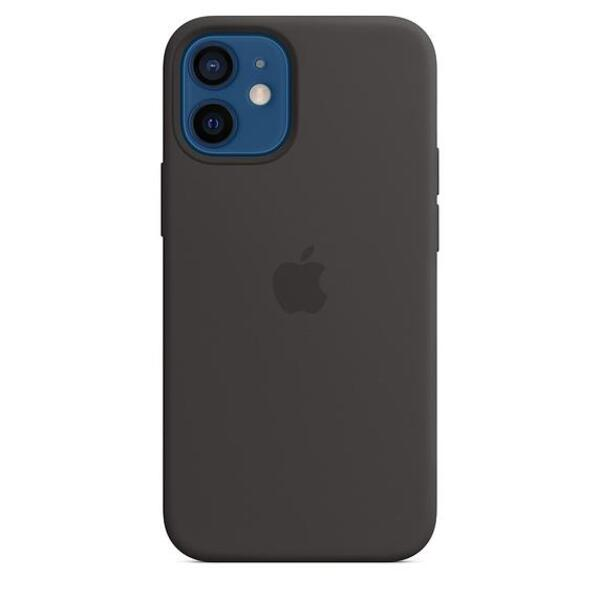 Apple iPhone 12 mini Silicone Case with MagSafe - Black