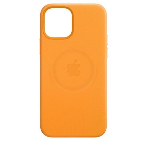 Калъф Apple iPhone 12 mini Leather Case with MagSafe (MHK63ZM/A)