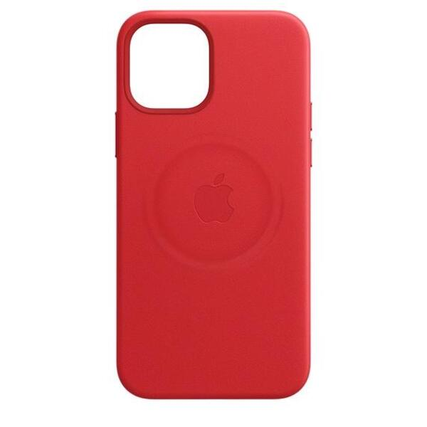 Калъф Apple iPhone 12 mini Leather Case with MagSafe (MHK73ZM/A)