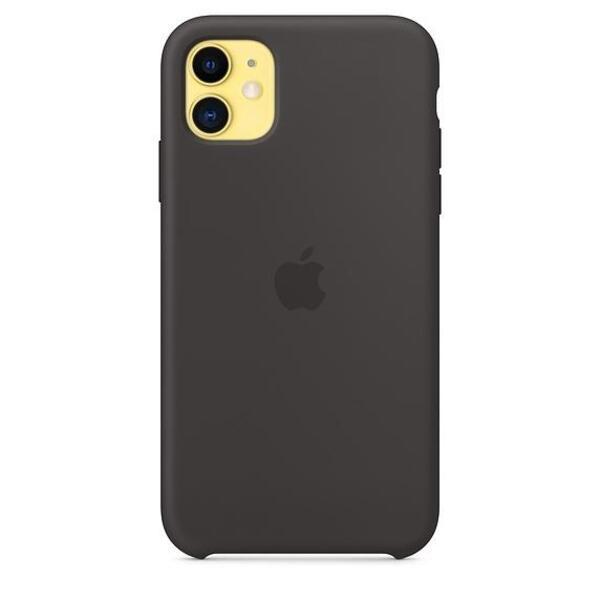 Apple iPhone 11 Silicone Case - Black