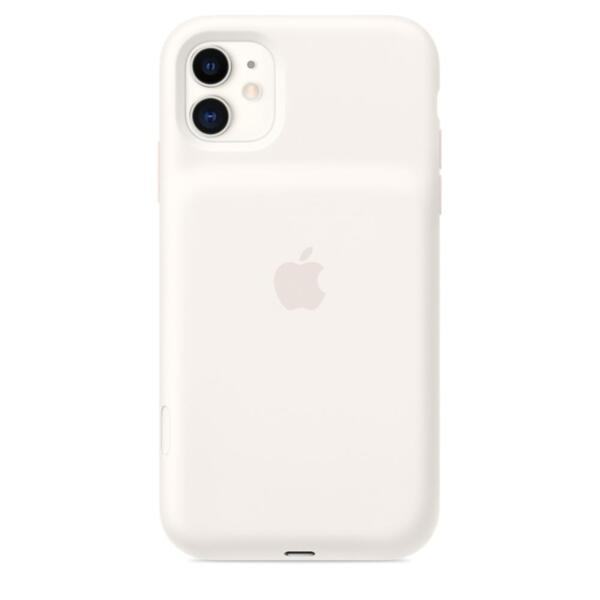 Apple iPhone11 Smart Battery Case with Wireless Charging - White