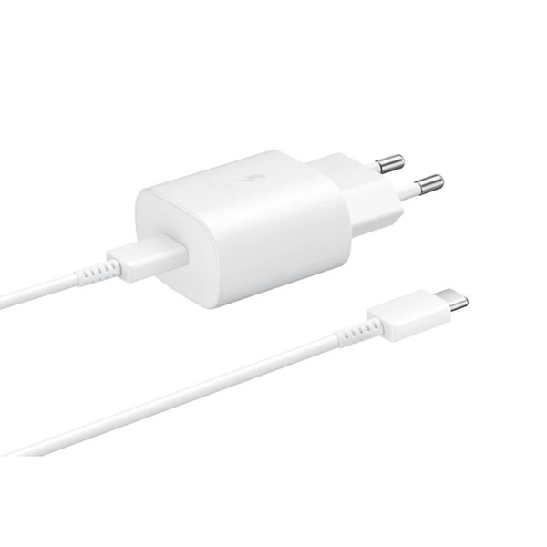 Samsung Super Fast Travel Charger, 25W, USB-C, White