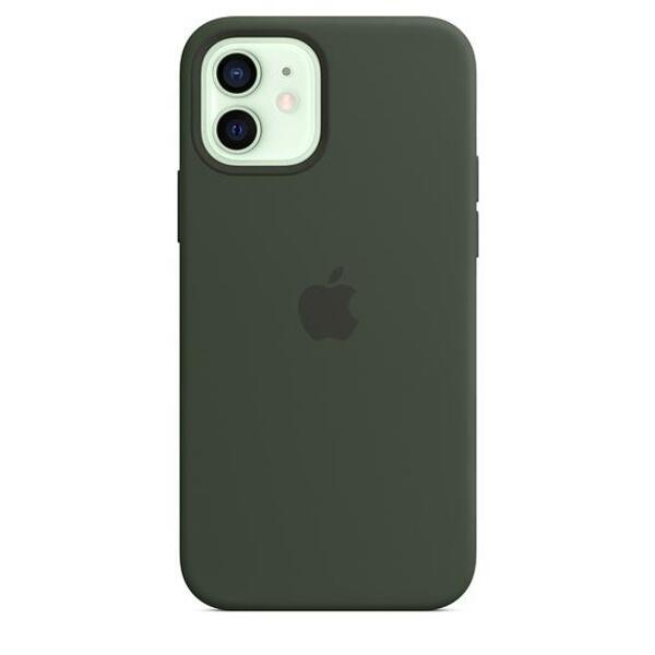 Apple iPhone 12/12 Pro Silicone Case with MagSafe - Cypress Green (Seasonal Fall 2020)