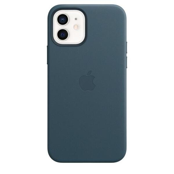 Apple iPhone 12/12 Pro Leather Case with MagSafe - Baltic Blue (Seasonal Fall 2020)