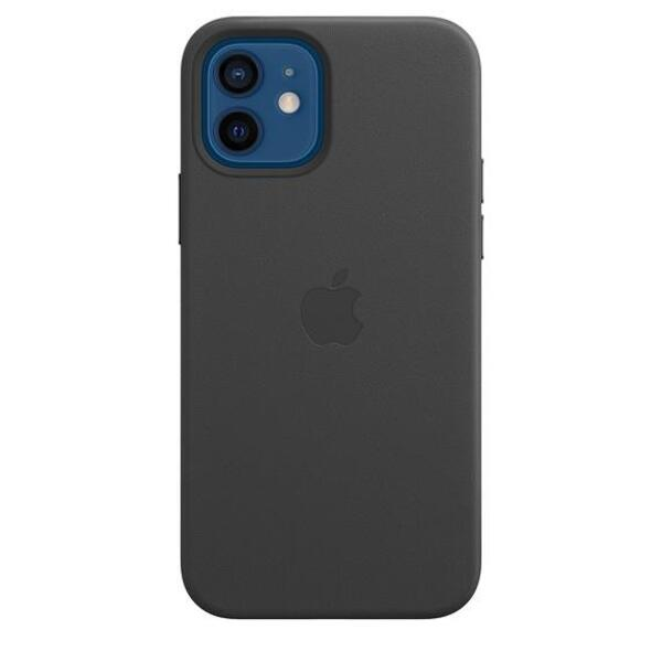 Apple iPhone 12/12 Pro Leather Case with MagSafe - Black
