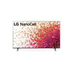 """LG 50NANO753PR, 50"""" 4K IPS HDR Smart Nano Cell TV, 3840x2160, DVB-T2/C/S2, Active HDR ,HDR 10 PRO, webOS Smart TV, ThinQ AI, WiFi, Clear Voice, Bluetooth, Miracast / AirPlay, Two Pole stand,"""