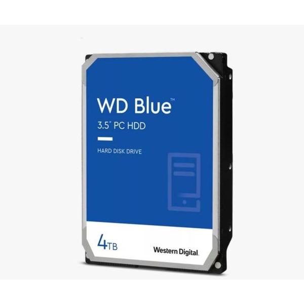 """Western Digital 4TB WD Blue PC Hard Drive HDD - 5400 RPM, SATA 6 Gb/s, 256 MB Cache, 3.5"""""""
