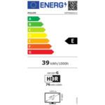 """Philips 43PFS6855/12, 43"""" FHD LED 1920x1080, DVB-T2/C/S2, HDR10+, HLG, Sapphi, HDMI, USB, Cl+, 802.11n, Lan, 20W RMS, Silver"""