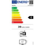 """Philips 43PFS6805/12, 43"""" FHD LED 1920x1080, DVB-T2/C/S2, HDR10+, HLG, Sapphi, HDMI, USB, Cl+, 802.11n, Lan, 20W RMS, Black"""