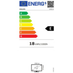 "Philips 245E1S/00, 23.8"" IPS WLED, 2560x1440@75Hz, 4ms GtG, 250cd/m2, 1000:1, Mega Infinity DCR, FreeSync/Adaptive Sync, FlickerFree, Low Blue Mode, Tilt, D-SUB, HDMI, DP"