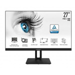 """MSI PRO MP271P, 27"""", IPS, 5ms, FHD 1920x1080, Exclusive Display Kit, Anti-Glare, Less Blue Light, Anti-Flicker, Speakers 2x2W, HDMI (Up to 75Hz), VGA, Mic-in, Headphone out, 1000:1, 250"""