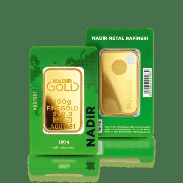 Златно кюлче 100 гр.