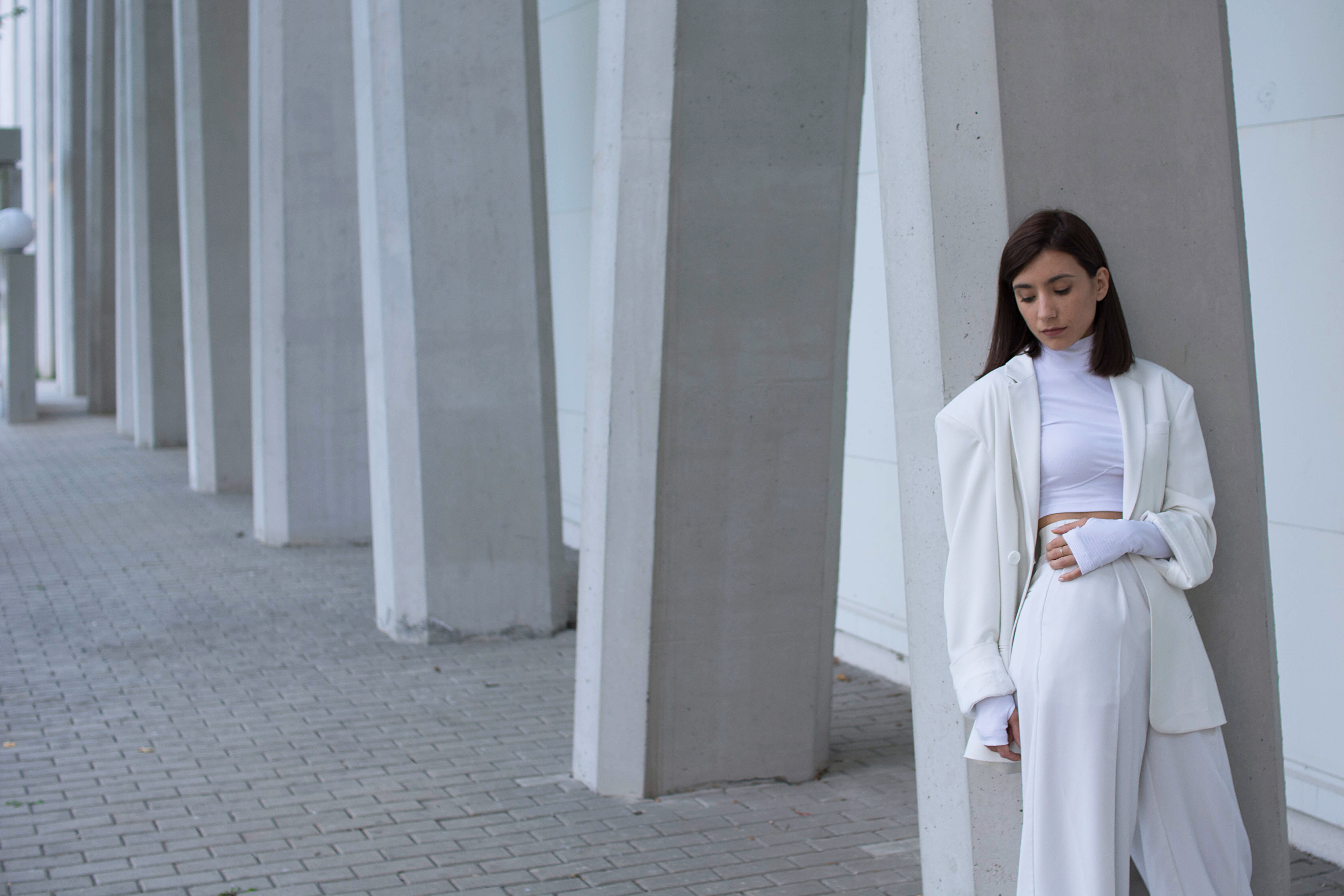 Contemporary brand with minimalist aesthetic rooted in modernist art and architecture