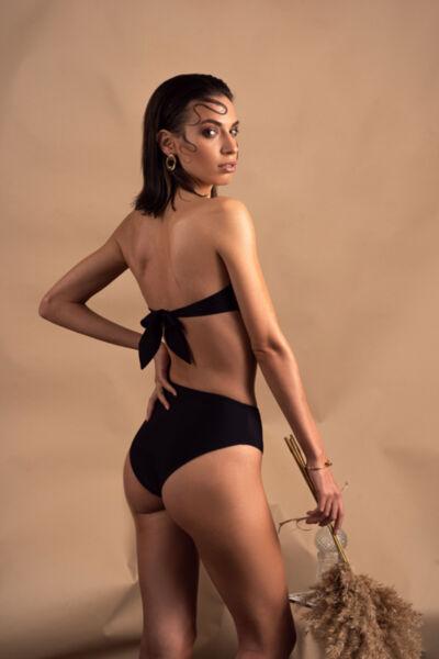 Maya in black-  high waist