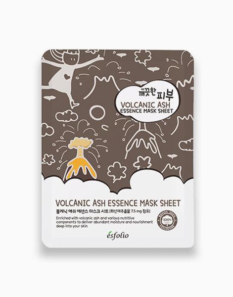 Esfolio шийт маска с вулканичен прах