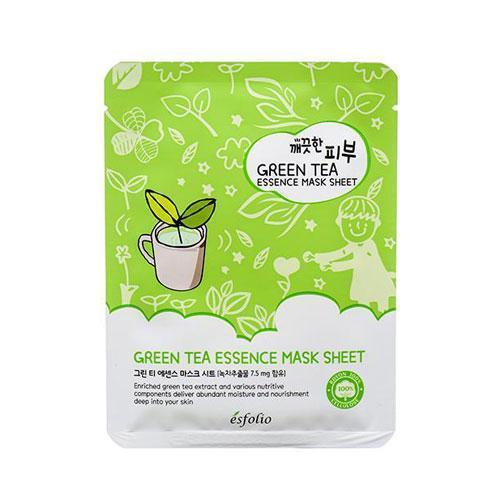 Esfolio шийт маска с екстракт от зелен чай