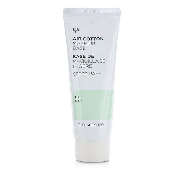 THE FACE SHOP - Air Cotton Makeup Base SPF30 PA++