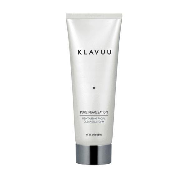 Klavuu- почистваща пяна за лице с екстракт от перли 130ml.