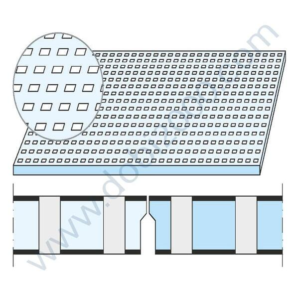 KNAUF Плоскост Cleaneo® Akustik 12/25Q кант UFF 1200/2000