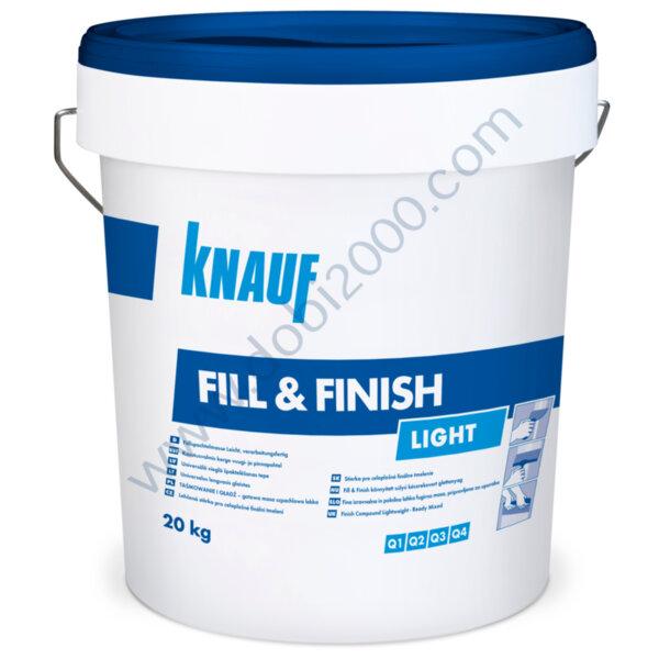 KNAUF  Fill&Finish готов фугопълнител и шпакловка 20кг.