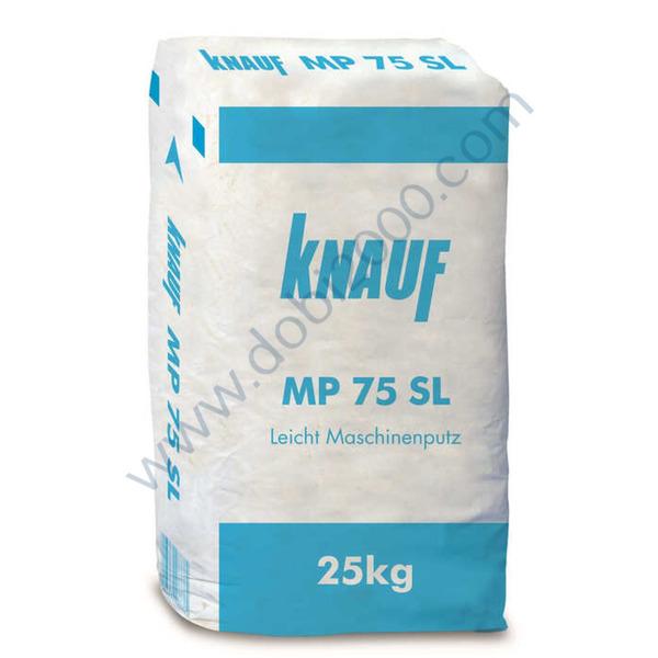 KNAUF MP 75 SL - мазилка за машинно полагане 25 кг.
