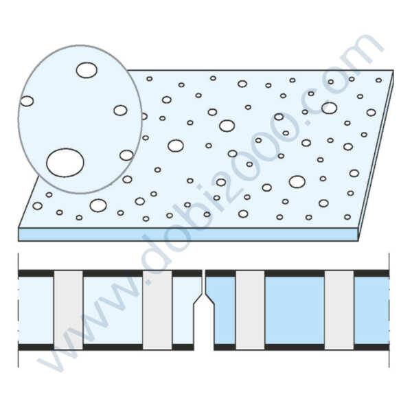 KNAUF Плоскост Cleaneo® Akustik 8/15/20R кант UFF 1200/2000