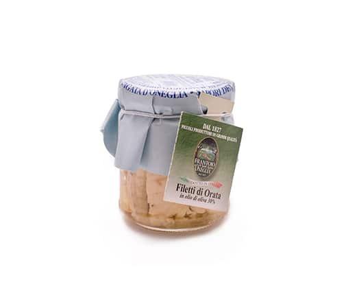 FRANTOIO Филе от Ципура в маслиново масло, 200гр