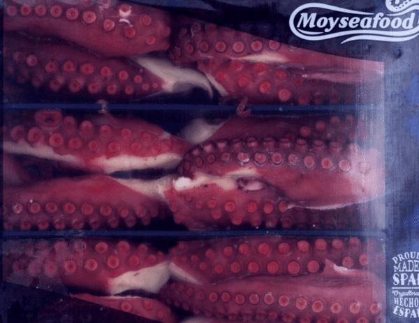 Готвени пипала октопод 1.5 кг тарелка