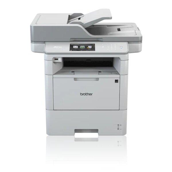 Чернобял лазерен мултифункционален принтер Brother MFC-L6900DW