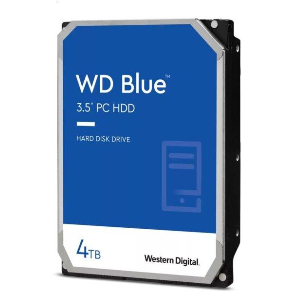 Твърд диск за компютър Western Digital WD40EZAZ Blue 5400RPM, 4TB