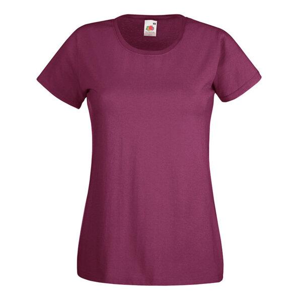 Дамска памучна леко вталена тениска - 24 цвята