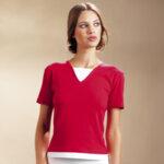Дамска тениска в два цвята