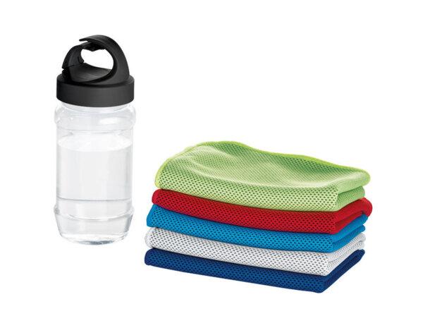 Фитнес кърпа в бутилка