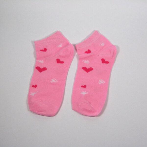 "Дамски спортни чорапи тип ""терлик"" ""Hearts"""
