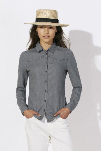 Дамска дънкова риза