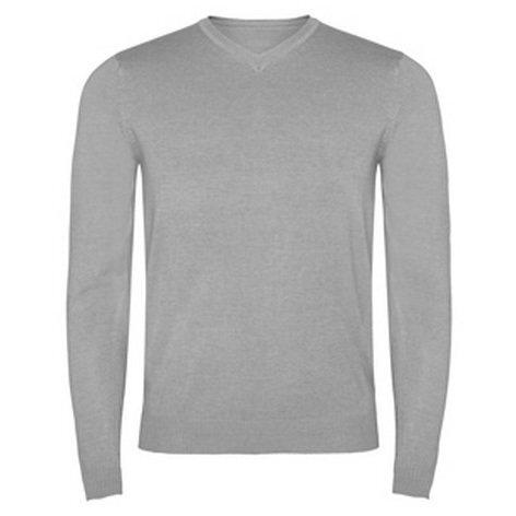 Мъжки пуловер в сив цвят