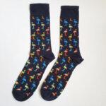 Мъжки чорапи с фламинго