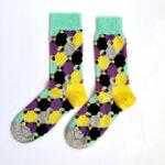 Мъжки геометрични чорапи