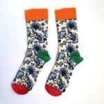 Мъжки чорапи с маргаритки