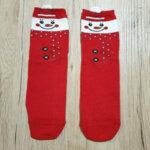 Дамски коледни чорапи със Снежен човек