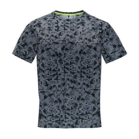 Мъжка тениска за спорт - черен