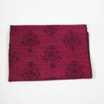 Дамски шал с ресни-две лица