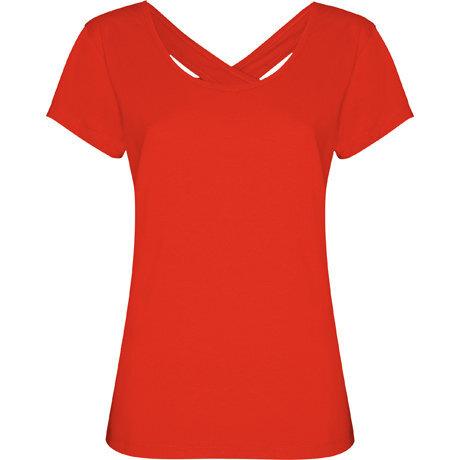 Дамска тениска с гол гръб