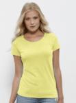 Дамска тениска с широко деколте