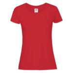 Дамска памучна тениска с къс ръкав